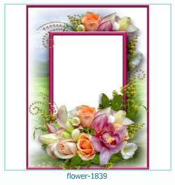 flower Photo frame 1839
