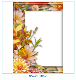 flower Photo frame 1842