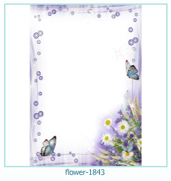 flower Photo frame 1843