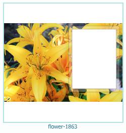 Blume Fotorahmen 1863