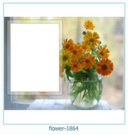 Blume Fotorahmen 1864