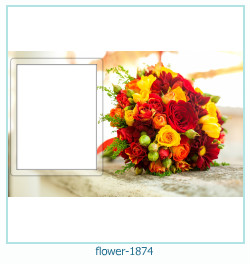 flower Photo frame 1874