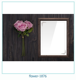 flower Photo frame 1876