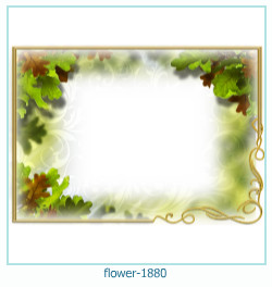 flower Photo frame 1880