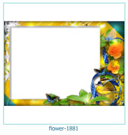 flower Photo frame 1881