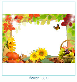flower Photo frame 1882
