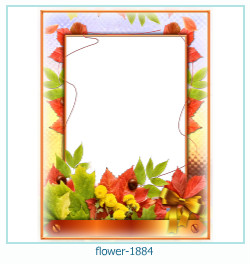 flower Photo frame 1884
