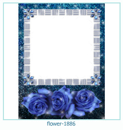 flower Photo frame 1886