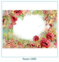 flower Photo frame 1889
