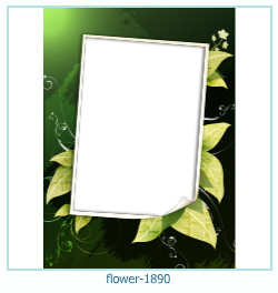 flower Photo frame 1890