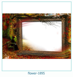 flower Photo frame 1895