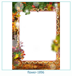 flower Photo frame 1896