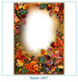 flower Photo frame 1897