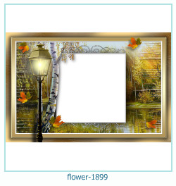 flower Photo frame 1899