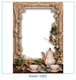 flower Photo frame 1965