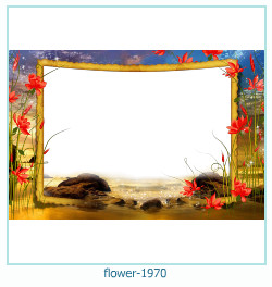 flower Photo frame 1970