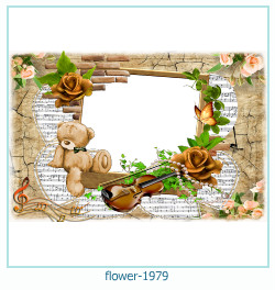 flower Photo frame 1979