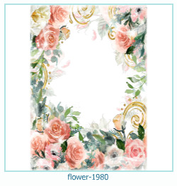 flower Photo frame 1980