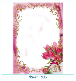 flower Photo frame 1985