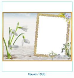 flower Photo frame 1986