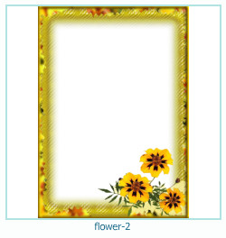 flor ano 2 ano Photo Frame