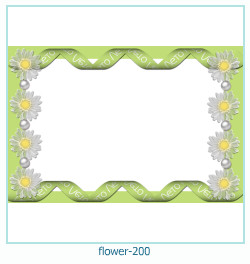 flower Photo frame 200