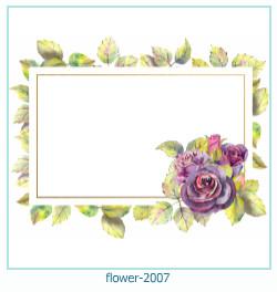 Marco de la foto de la flor 2007