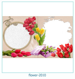 flower Photo frame 2010