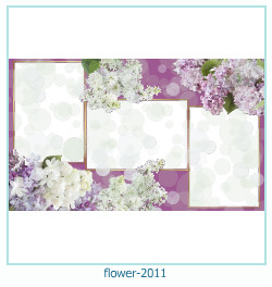flower Photo frame 2011
