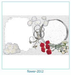 flower Photo frame 2012