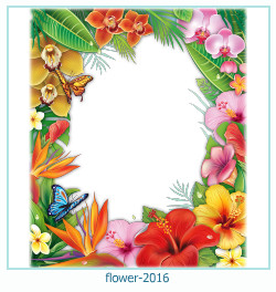 flower Photo frame 2016