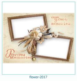flower Photo frame 2017