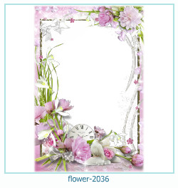 flower Photo frame 2036