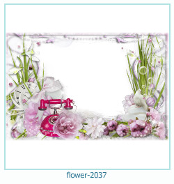 flower Photo frame 2037