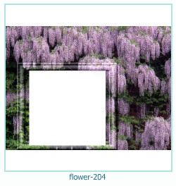 flower Photo frame 204