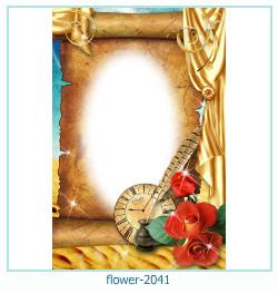 Marco de la foto de la flor 2041