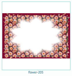 flower Photo frame 205