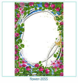 flower Photo frame 2055