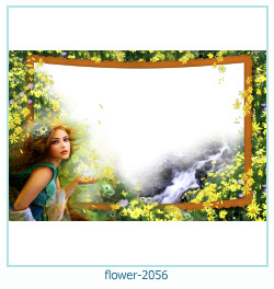 flower Photo frame 2056