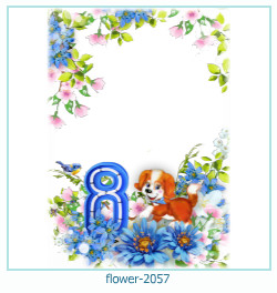 flower Photo frame 2057