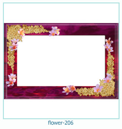 flower Photo frame 206