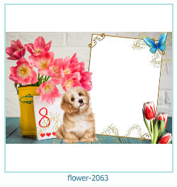 flower Photo frame 2063