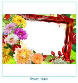 flower Photo frame 2064