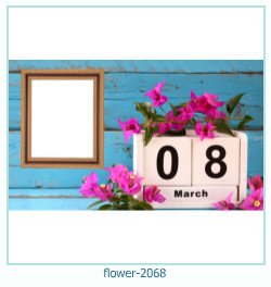 flower Photo frame 2068