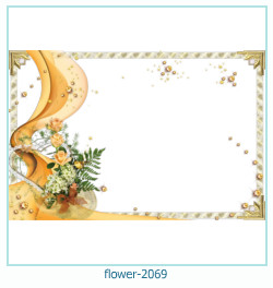 flower Photo frame 2069