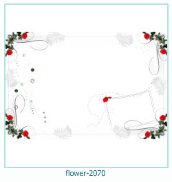 flower Photo frame 2070