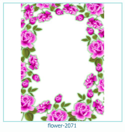 flower Photo frame 2071