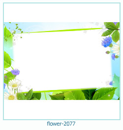 flower Photo frame 2077
