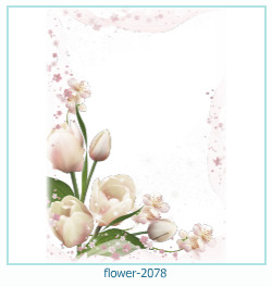 flower Photo frame 2078