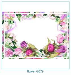 flower Photo frame 2079
